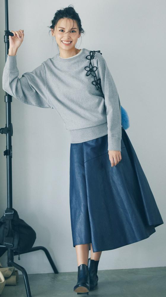 申真衣さんが着こなす【2020秋冬】ロンハーマンのカジュアル名品