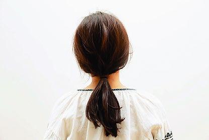 卒園式の髪型、アレンジ3-2