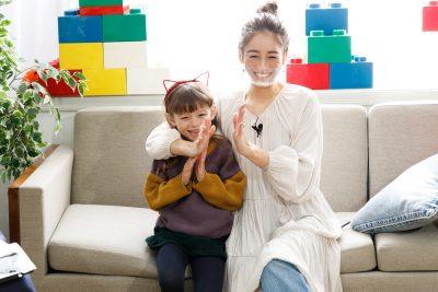 大桑マイミさん親子と一緒に楽しみながら学ぶ「おうち遊びのコツ」