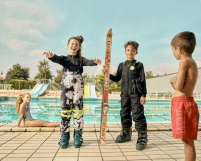 オシャレと目立つを両立!「ディーゼル キッズ」の黒スキーウェア