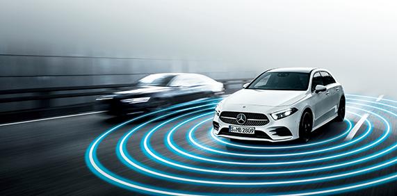 Point1 先進の安全運転支援システムを搭載