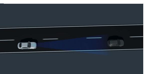Point2 ボタンひとつで前走車との最適な距離をキープ