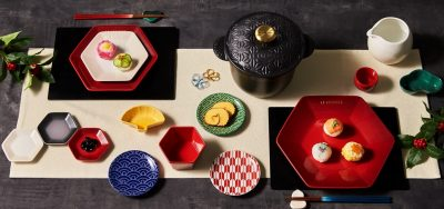 """【本日発売!】ル・クルーゼの""""和皿""""で重箱なしでおせち"""