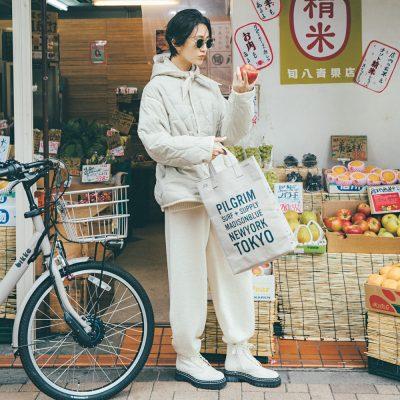 防寒とオシャレを両立!自転車ママのオシャレコーデと小物