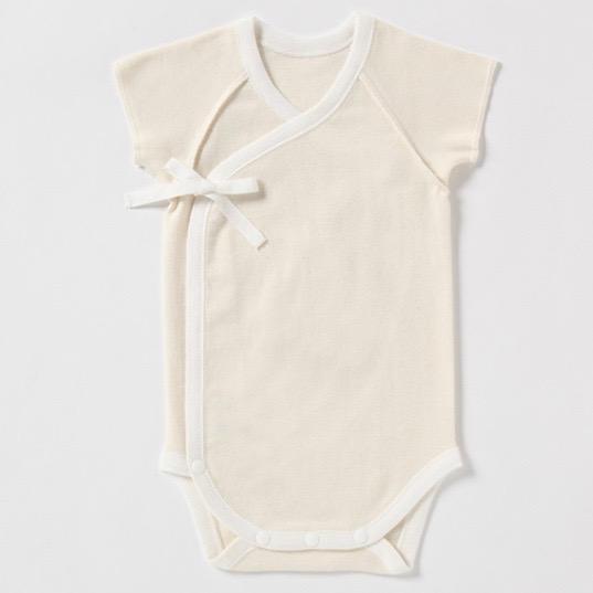 新生児肌着 プリスティン 22世紀ベビーグレコ肌着 / オーガニックコットン