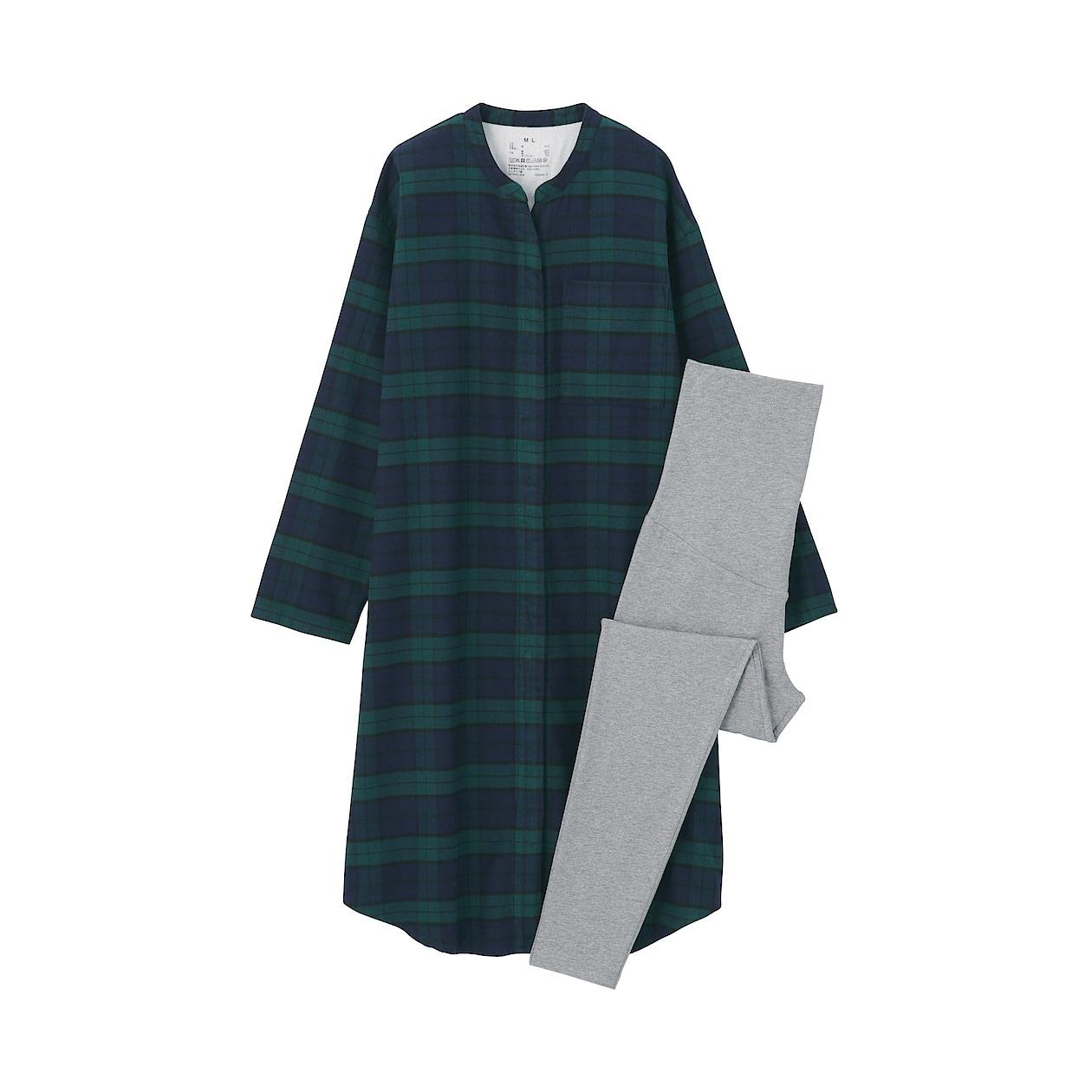 秋冬におすすめの無印良品のマタニティパジャマ