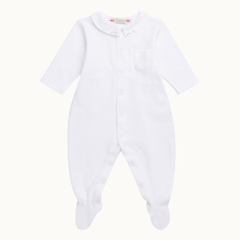 新生児肌着 ボンポワン パジャマ