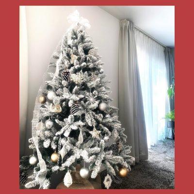 VERYモデルのお家のクリスマスツリーを公開!