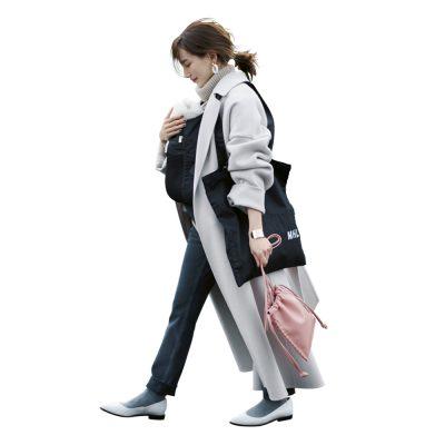 【親子コーデ】羽織れるコートなら抱っこ紐のままでオシャレ!