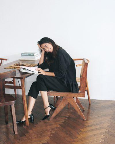 森泉さんが着るハッピーな黒「自粛の世の中になって服選びが丁寧に」