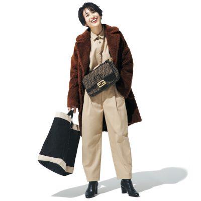 神山まりあさんのバッグの中身「荷物の9割は子どもセット!」