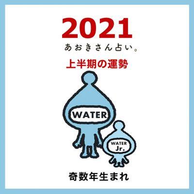 【2021年上半期の運勢】水のエレメント|奇数年生まれ