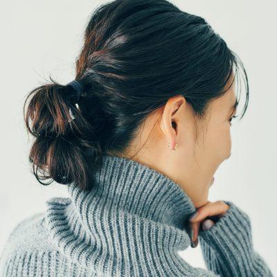 ゴム2本!3分で完了する簡単まとめ髪「ダブルノット」で毎日今どきヘア!