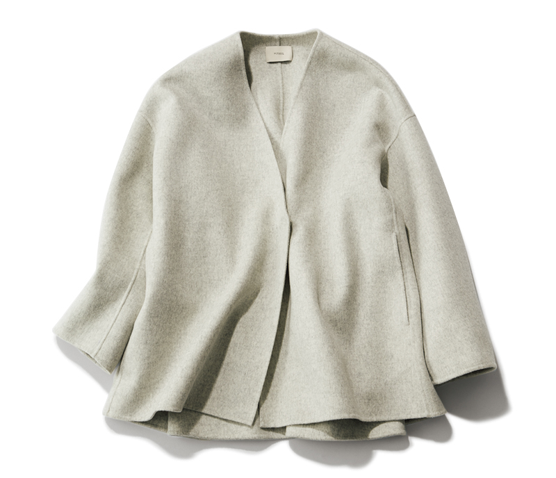 ショート丈のコート