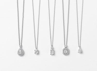 30代の「一生ものジュエリー」グラフのダイヤモンドペンダント編