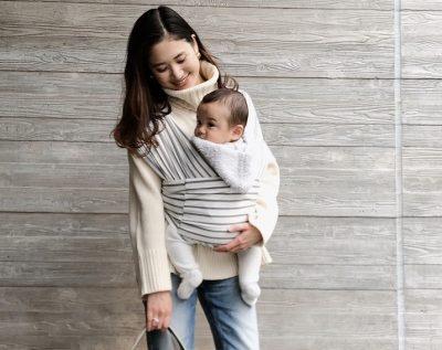 おしゃれな抱っこひも【コニー】乳幼児ママの私服コーデ5選