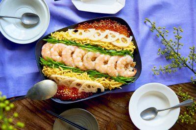 市販の寿司のたねで簡単!ひな祭りの「ちらし寿司」レシピ