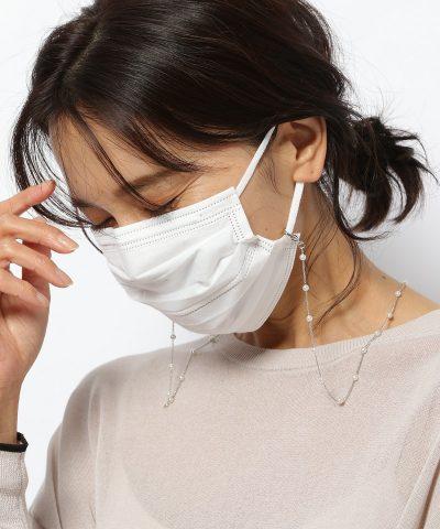 「マスクチェーン」で普通の白マスクが卒園式・卒業式仕様に!