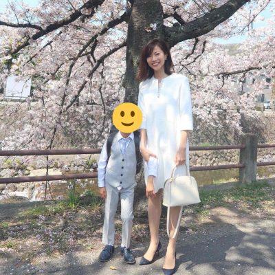 「脱ネイビー派」先輩ママの【卒入園・卒入学】スナップ!