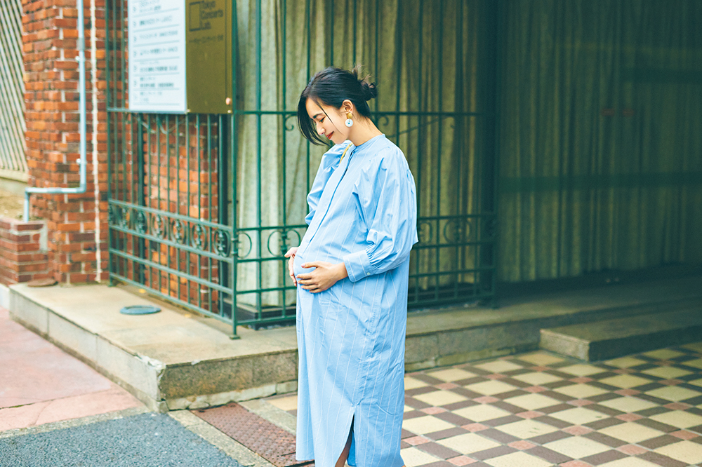 産前産後も着られるワンピース,カフタンワンピース