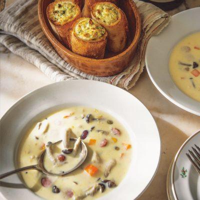 【2品献立】サルボ恭子さんの「スープが主役の20分献立レシピ」