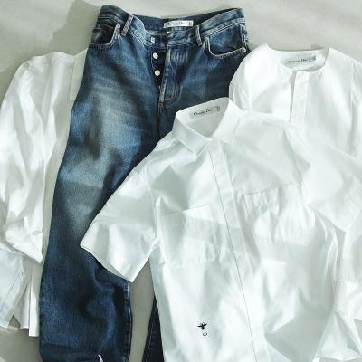 【人気スタイリスト長澤実香さんに聞く】 DIORの「黒」と「白シャツ」