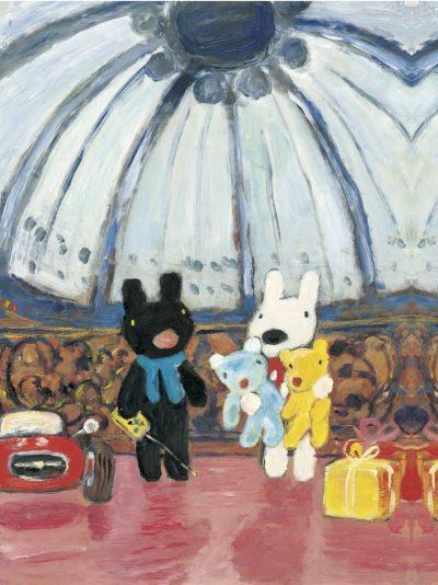 子どもの初めての展覧会に!「リサとガスパールのおもいで展」