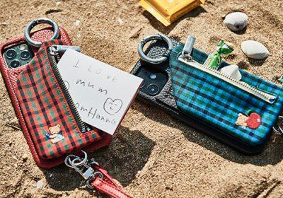 「ajew×ファミリア」コラボのスマホケースとバッグが見逃せない【明日発売】