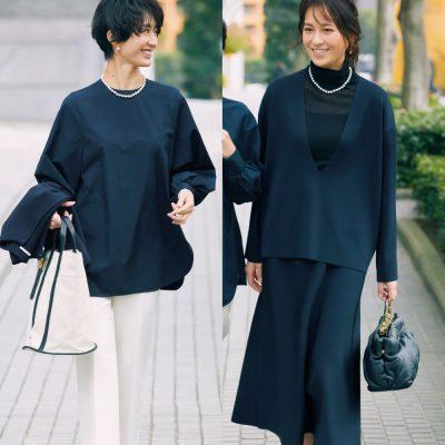 卒入園服に「ハッシュニュアンス」人気浮上!母行事や通勤に使えるアイテム発見
