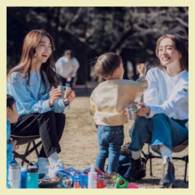 【チェアリングって?】公園ピクニックに最適!オシャレママの週末トレンド