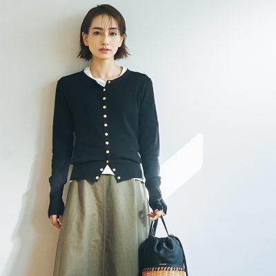 園ママに「カジュアル名品」が効く!スタイリスト岩田槙子さんの春コーデ