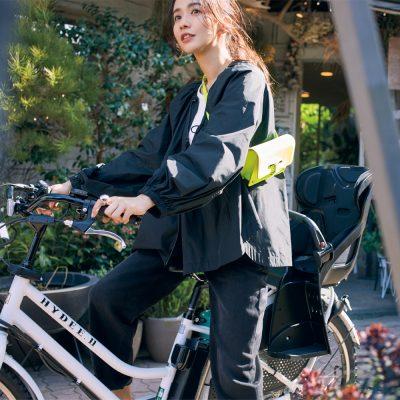 自転車コーデに【短め丈シャカアウター】万能カラー5選