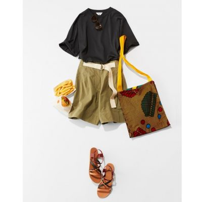 「ショーパン×Tシャツ」を30代40代が着るための3つのコツ