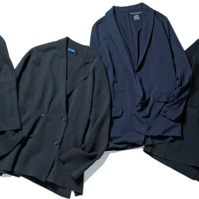 「黒紺ジャケット」もゆるっと!学校行事にも使えるカジュアル春アウター4選