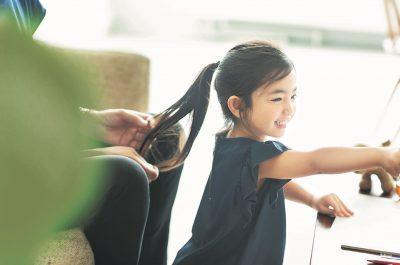 【卒入園ヘアアレンジ・女の子向け4選】パパもできる超簡単テクニック!