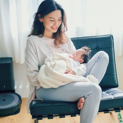 第二子出産・申真衣さん「ルンバ」と「ブラーバ」まず必要なのはどっち!?【ルンバチャレンジvol.1】