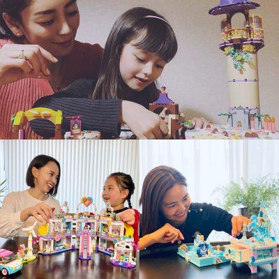 「女子レゴで、あそぼ!」 女の子ママのVERYモデル+読者にも刺さってます!