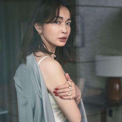 長谷川京子さん「私を変えた、奔放なのに品があるTASAKIのリング」