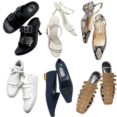 【春の洗練シューズ6選】着こなしを盛り上げるブランドとデザイン