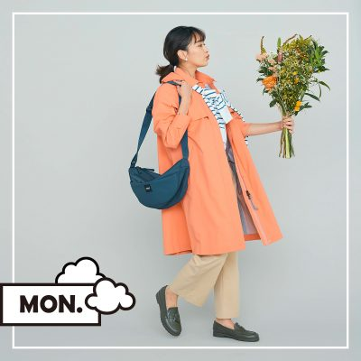 傘いらずなアウターなら、天気が怪しい日のお出かけも余裕♪【MON】