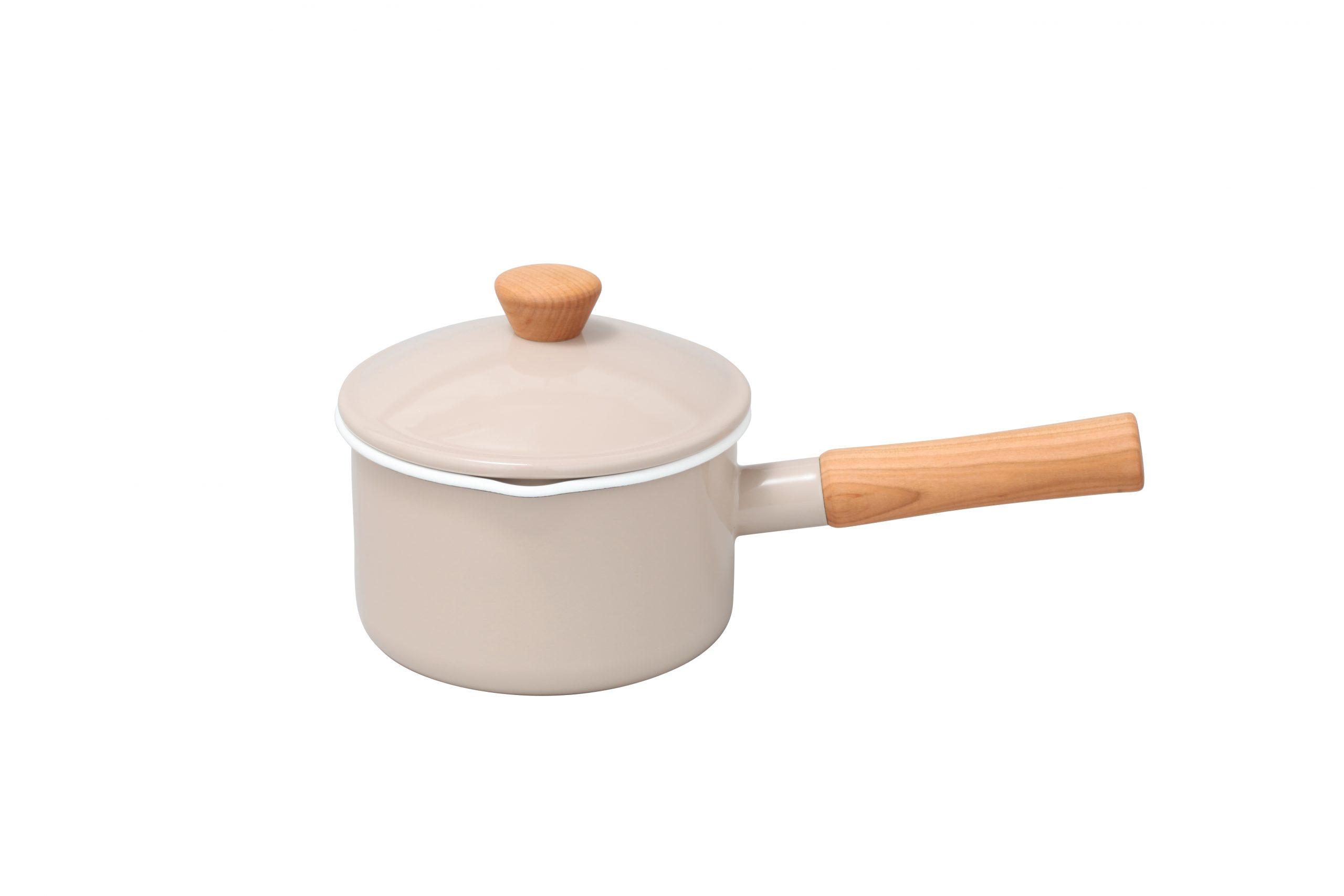 野田琺瑯/クルール ソースパン 14cm/3,850円