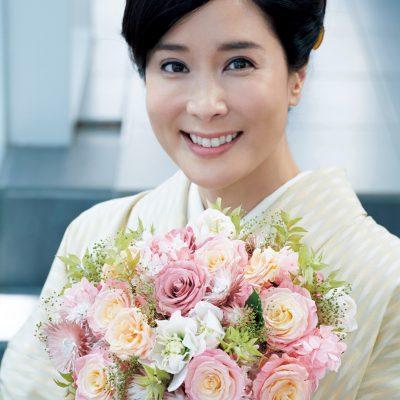 内田恭子さん「普段から花に親しんだ生活をしています」