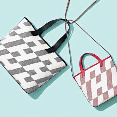 【エルメス】話題の新作バッグ「H・アン・ビエ」はパパと兼用で使える!