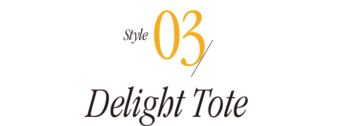 Style03 Delight Tote