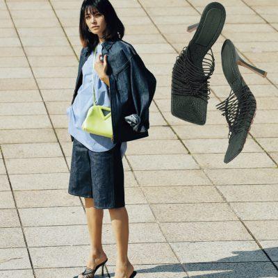 靴が主役の春スタイル4選【カラーシューズ】はミニマル配色で際立つ