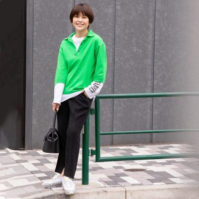 「オニツカタイガー」カジュアル上手なスタイリストが履いてみた!【FILE.1  岩田慎子さん】