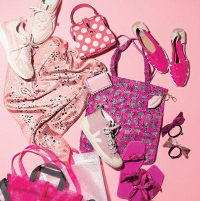 センスよく見える差し色はピンク!普段着でも着映える小物使いのコツ