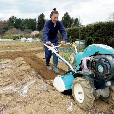 浅見れいなさん「農業のある生活で、1〜2カ月に1度、家族で土まみれに!」