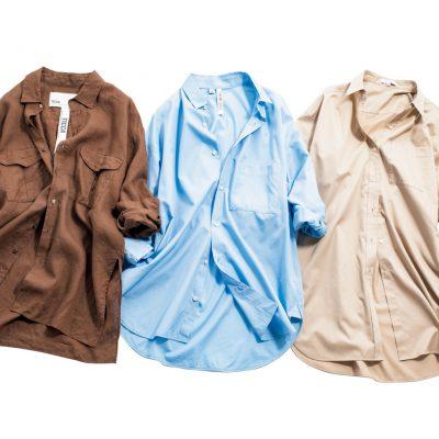 1枚あると便利!カーデ感覚で羽織れるロングシャツ3選