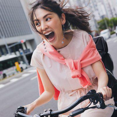 気分の上がる【自転車コーデ7選】アクティブ目線のきれいめスタイル